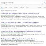 Seo Agency Thomasville