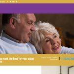 example of new website design