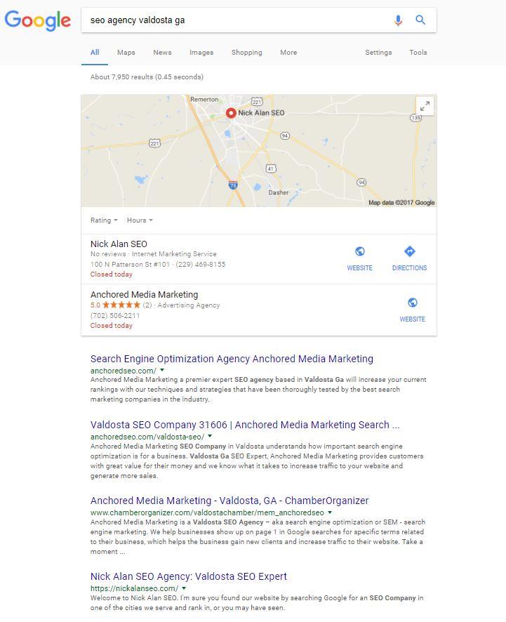 SEO Agency Valdosta