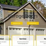 garage door new website design